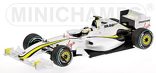 Brawn GP BGP 001 (2009) No.23 - Rubens Barrichello