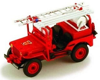 Jeep Willys - Pompiers du Tarn